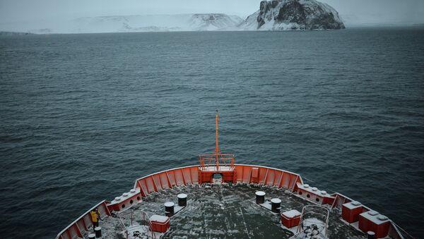 Земля Франца-Иосифа в Северном Ледовитом океане