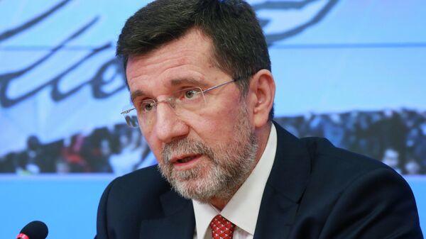 Чрезвычайный и полномочный посол Сербии в России доктор Славенко Терзич
