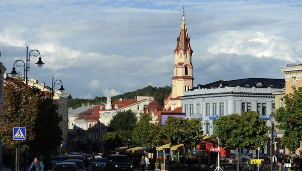Вильнюс, архивное фото