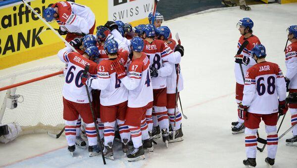Хоккеисты сборной Чехии. Архивное фото