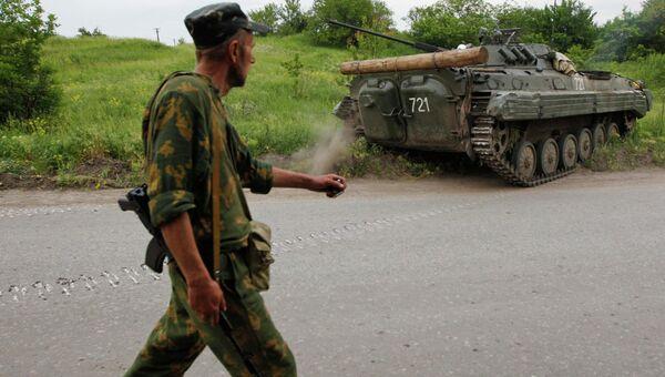 Захваченная бронетехника украинской армии