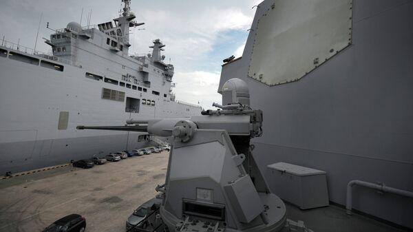 На борту военного корабля США. Архивное фото.