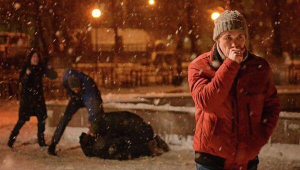 Кадр из фильма Дурак