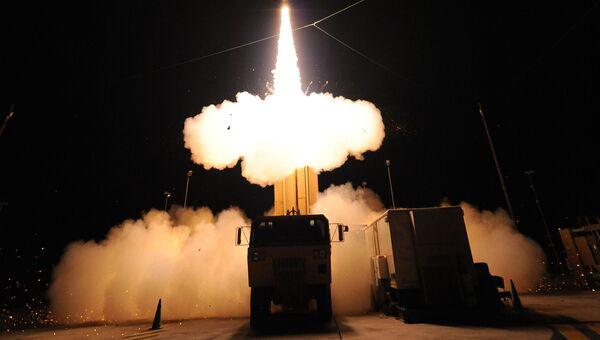 Американский противоракетный комплекс системы THAAD. Архивное фото