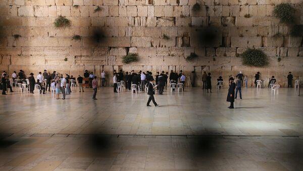 Стена плача в Старом городе Иерусалима, архивное фото