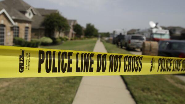 Место преступления в США