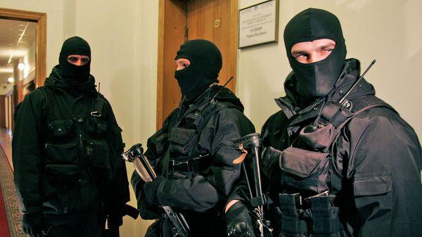 Сотрудники СБ Украины