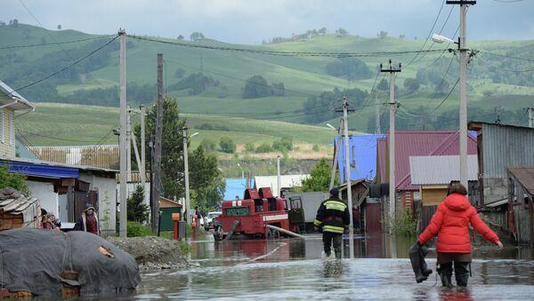 Последствия паводка в Республике Алтай. Архивное фото