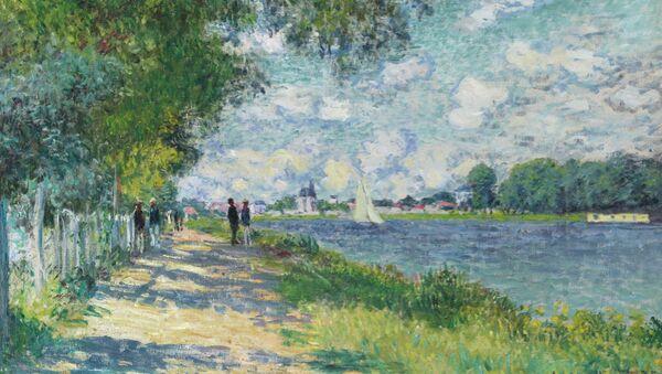 Клод Моне Сена в Аржантее (1840 - 1926)
