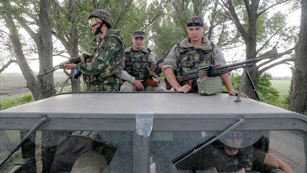 Десантники украинской армии. Архивное фото