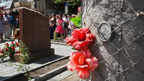 Памятник жертвам теракта в Волгограде. Архивное фото