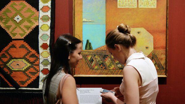 Открытие выставки Хайтарма. Искусство крымских татар