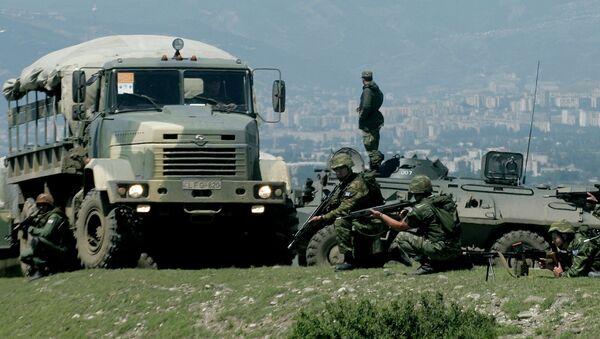 Учения НАТО  в Грузии. Архивное фото