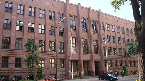 Министерство иностранных дел Польши. Архивное фото