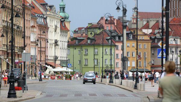 Города мира. Варшава. Архивное фото