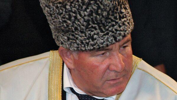 Председатель Координационного центра мусульман Северного Кавказа (КЦМСК) муфтий Карачаево-Черкесии Исмаил Бердиев. Архивное фото