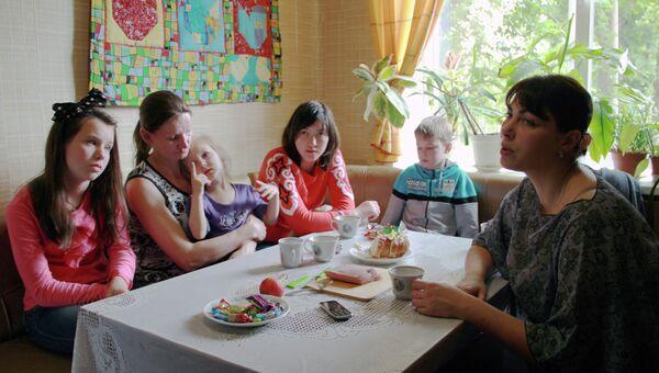 Украинские беженцы в Воронежской области