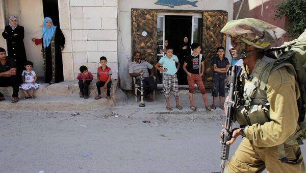 Израильские военные на Западном берегу. Архивное фото