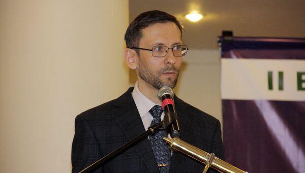 Ректор Московского исламского института Дамир Хайретдинов
