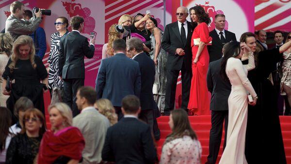 Гости Московского международного кинофестиваля. Архивное фото