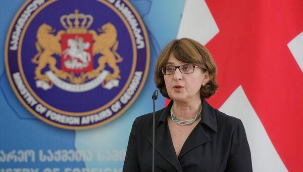 Глава МИД Грузии Майя Панджикидзе