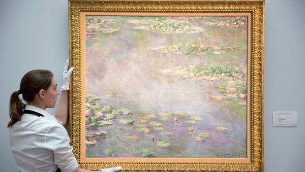 Водяные лилии Клода Моне на аукционе Сотбис