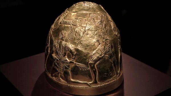 Экспонат выставки Крым: золото и секреты Черного моря в Амстердаме. Архивное фото