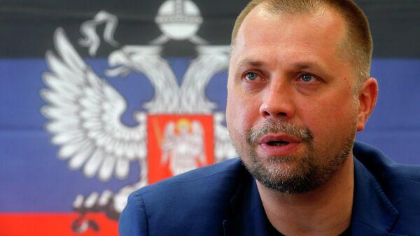 Премьер-министр ДНР Александр Бородай . Архивное фото