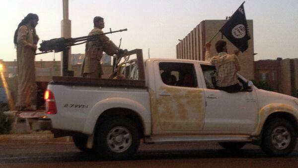 Боевики-исламисты в Ираке. Архивное фото.