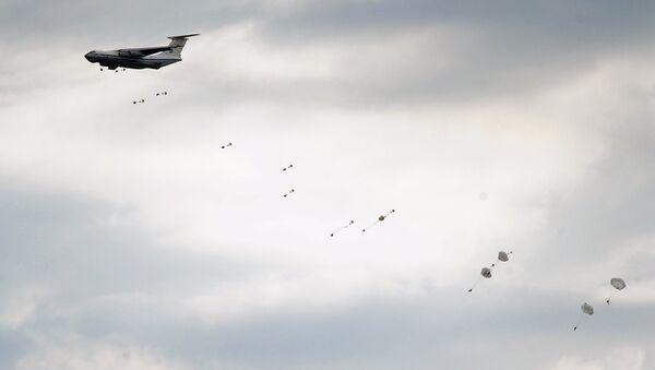 Десантирование военнослужащих