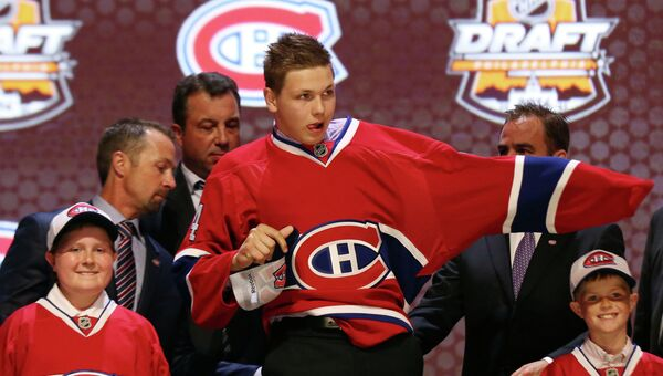 Драфт НХЛ-2014. Никиту Щербака выбрал Монреаль под 26-м номером