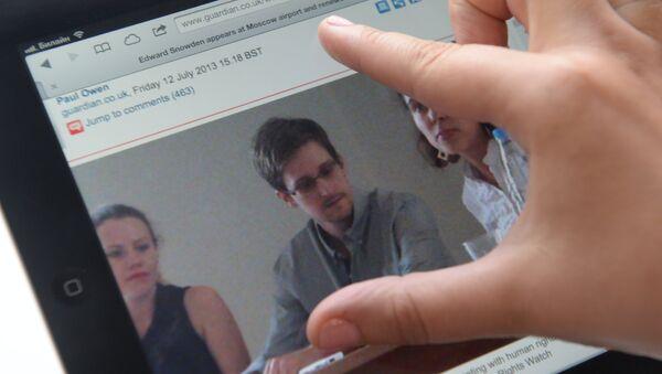 Экс-сотрудник ЦРУ Эдвард Сноуден. Архивное фото