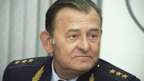 Бывший главком военно-воздушных сил РФ генерал-полковник авиации Корнуков. Архивное фото