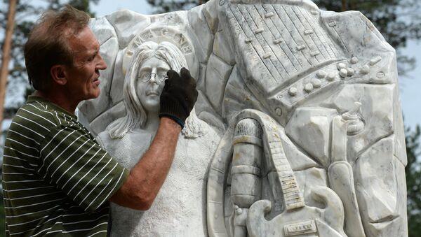 Скульптор Владимир Войчишин из Алтайского края