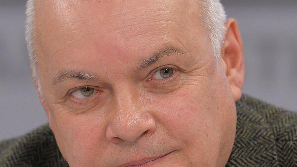 Генеральный директор ФГУП Международное информационное агентство Россия сегодня Дмитрий Киселев, архивное фото