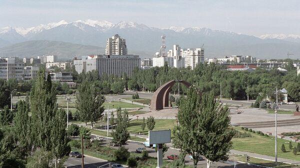Столица Киргизии Бишкек. Архивное фото