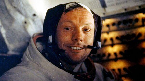 Американский астронавт Нил Армстронг. Архивное фото