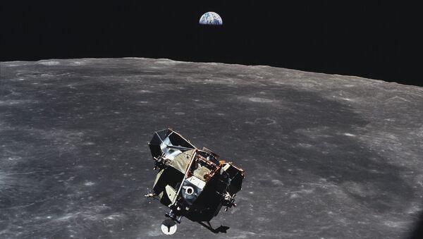 Отделение Лунного модуля от корабля Аполлон-11