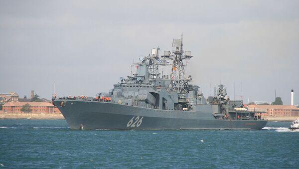 Корабль ВМФ России Вице-адмирал Кулаков