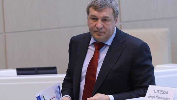 Бывший министр регионального развития РФ Игорь Слюняев. Архивное фото
