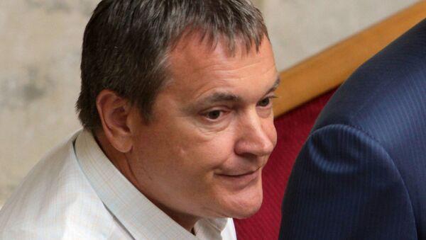 Экс-депутат Верховной рады Украины Вадим Колесниченко. Архивное фото