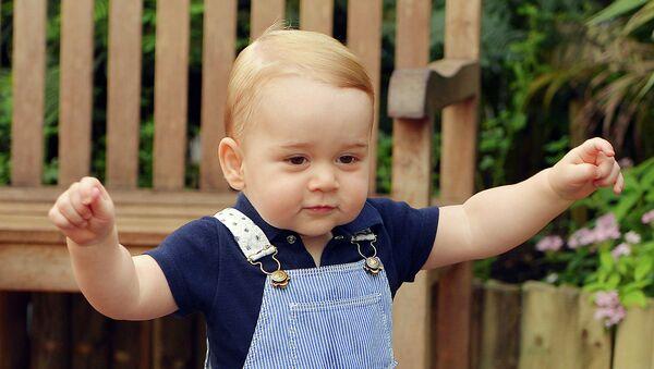Первый день рождения принца Джорджа