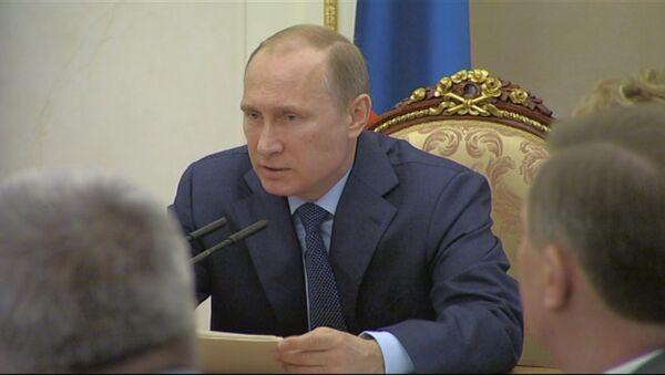 НАТО в Восточной Европе демонстративно усиливается - Путин на Совбезе РФ