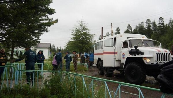 Циклон на территории Магаданской области