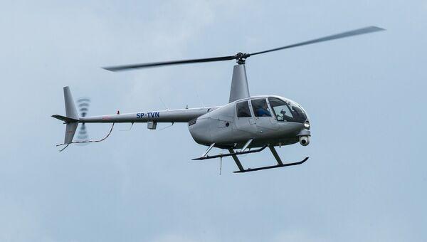 Вертолет Robinson R-44