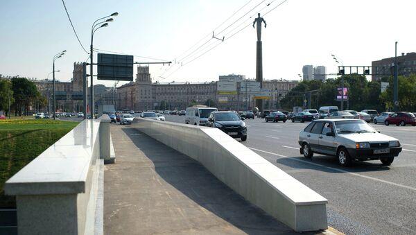 Площадь Гагарина. Архивное фото
