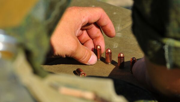 Пистолетные патроны, архивное фото