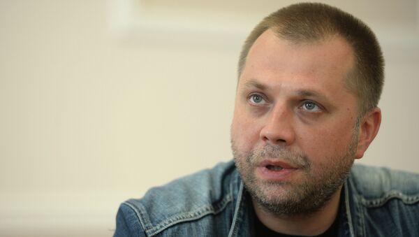 Бывший премьер-министр ДНР Александр Бородай. Архивное фото