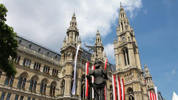 Венская ратуша. Австрия. Архивное фото