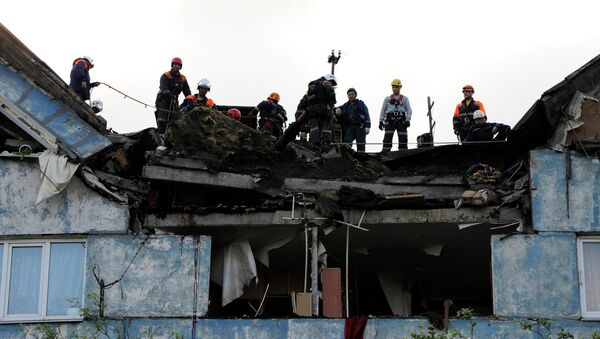 Взрыв бытового газа в жилом доме в Мурманске, архивное фото